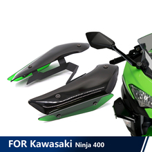 For Kawasaki Ninja 400 DOWNFORCE SPOILERS Aerodynamic Wing Kit Fixed Winglet Fairing Wing Motorcycle Accessories Ninja400