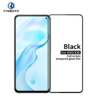 For VIVO X30 PINWUYO Glass For VIVO X30 9H Full Tempered Film For VIVO X30 Screen Protector Scratch Resistant