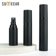 20PCS/lot 15ML 30Ml 50ML Plastic Emulsion bottles spray bottle matte black vacuum bottle Airless Pump Vacuum Container