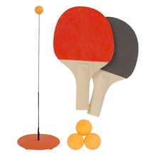 Toy Racket Trainer Table-Tennis-Set Ping-Pong-Training-Equipment Practice New Indoor