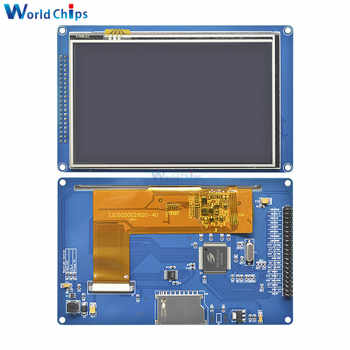 "5.0"" 5.0 inch 800x480 TFT LCD Module Display Touch Panel + SSD1963 For 51/ AVR/ STM32 800*480 LCD Display Module Screen Touch"