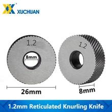 1.2mm Reticulated Knurling Inner Hole Wheel Knurling In Lathe Embossing Wheel Steel Lathe Tool Gear Shaper Cutter