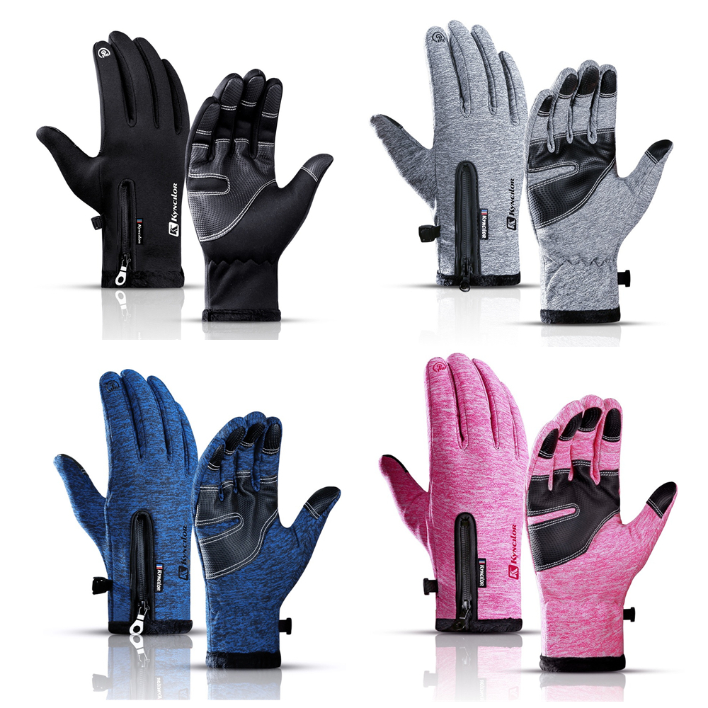 Ski Gloves 4 Colors Snowboard Gloves Winter Motorcycle Riding Waterproof Snow Windstopper Camping Leisure Mittens