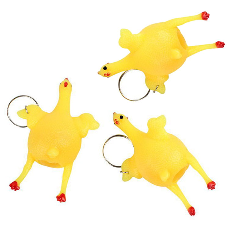 Fidget-Toys Chicken-Keychain Decompression Squeeze Fun Adult Children's Creative Egg img5