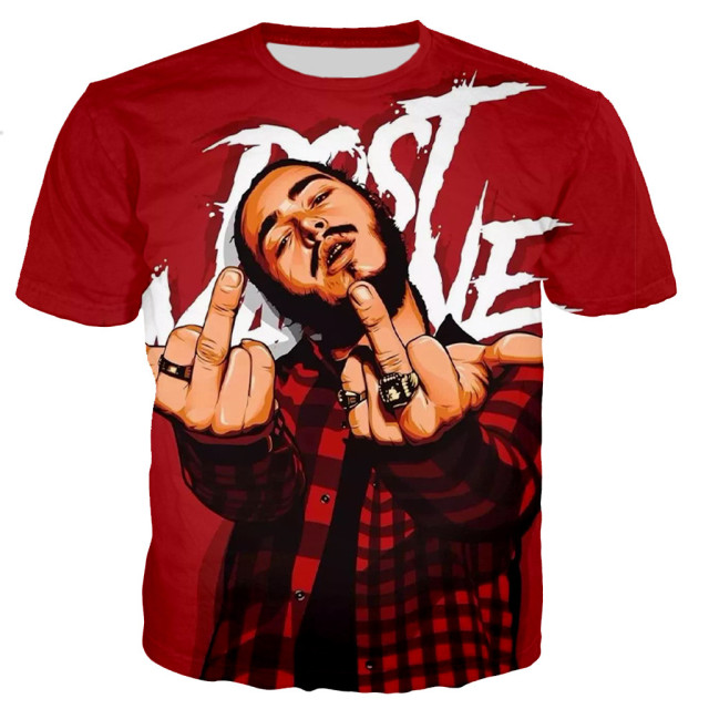 Post Malone 3D Printed Casual T Shirts  1