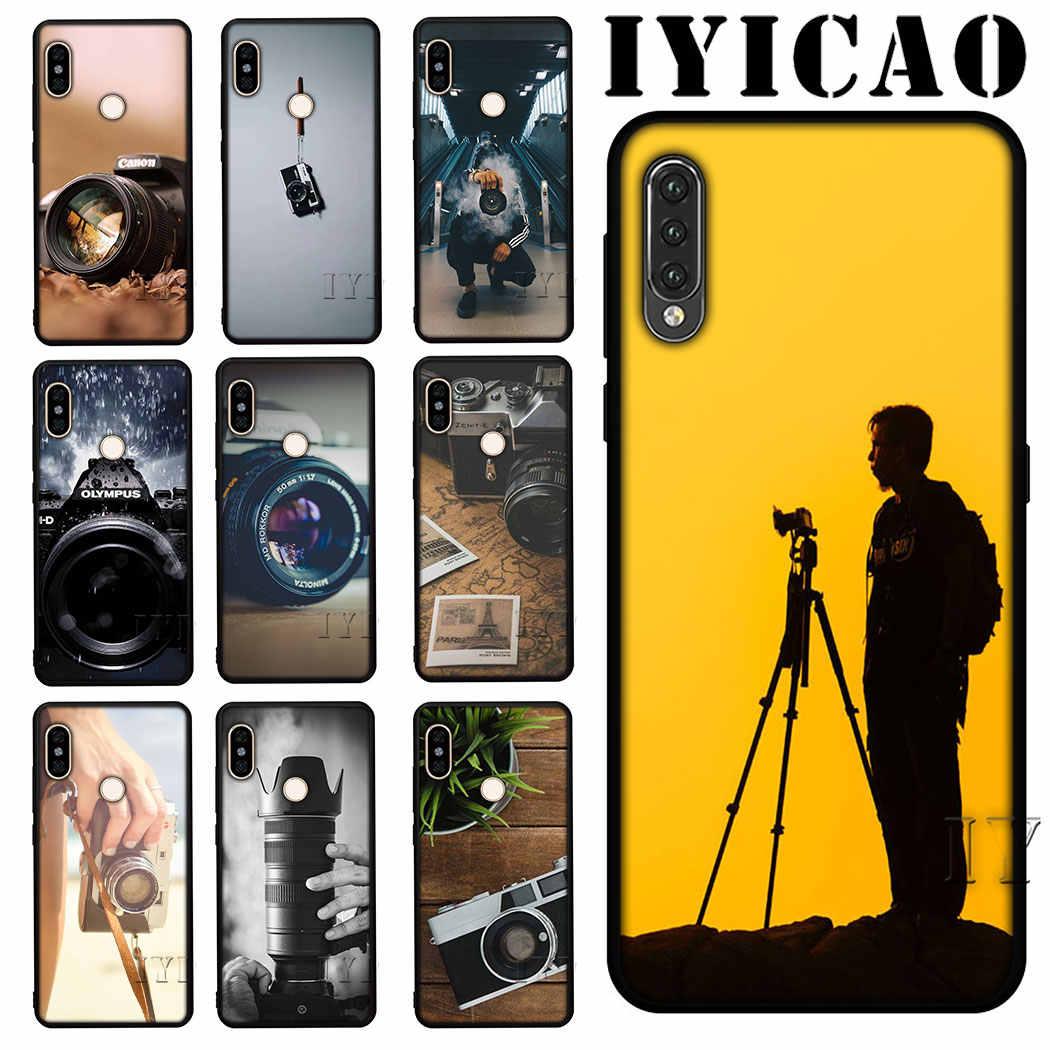 IYICAO kamera Weiche Silikon Telefon für Redmi 4A 4X 5A 6A 5 6 Plus 7 S2 Hinweis 4X5 abdeckung