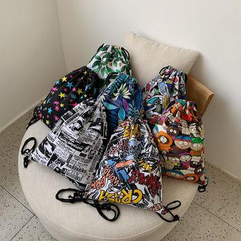 Fashion Portable Drawstring bags Girls Shoes Bags Women Cotton Travel Pouch Storage Clothes handbag High Quality Makeup bags #qw
