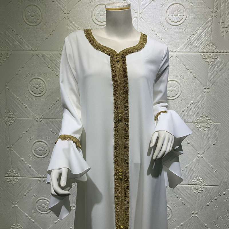 White Abaya For Women's Islamic Clothing