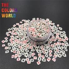 Покерная форма, полимерная глина, посыпает горячую мягкую глину, посыпает Красочные украшения для дизайна ногтей, пластиковые изделия, маленькие милые аксессуары