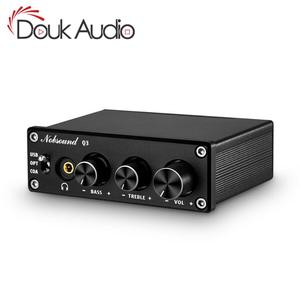 Image 1 - Douk オーディオミニハイファイ USB DAC ミニデジタルアナログコンバータ同軸/Opt ヘッドフォンアンプと高音低音