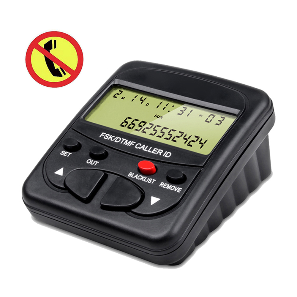 โทรศัพท์ Call Blocker อุปกรณ์ล่าสุด Call Blocker สำหรับโทรศัพท์พื้นฐาน 1500 ความจุหยุดที่ไม่พึงประสงค์สาย,การ...
