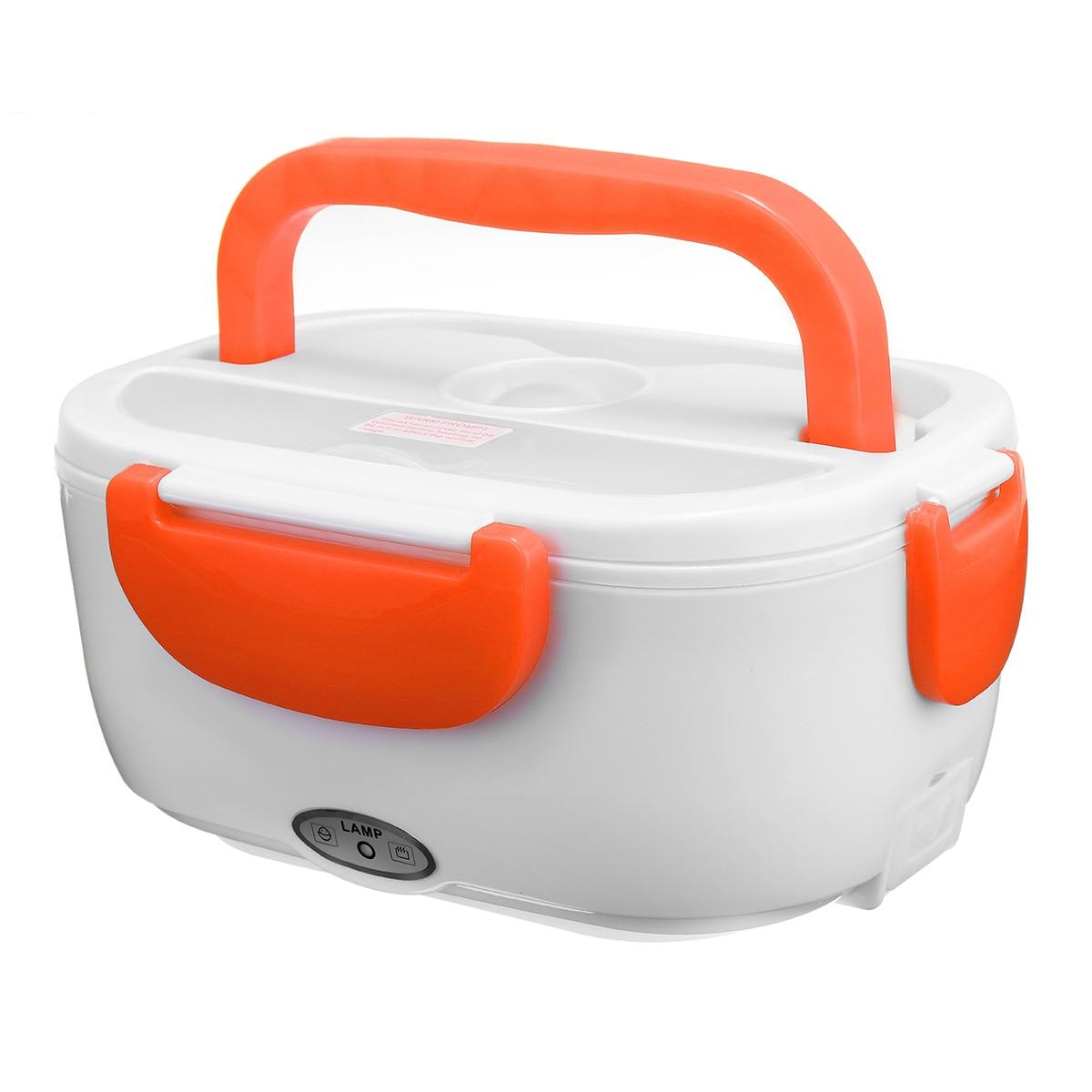 12/110/220 в портативный Электрический подогреваемый Ланч-бокс Bento коробки для автомобиля еда рисовый контейнер теплее для школы офиса домашняя...