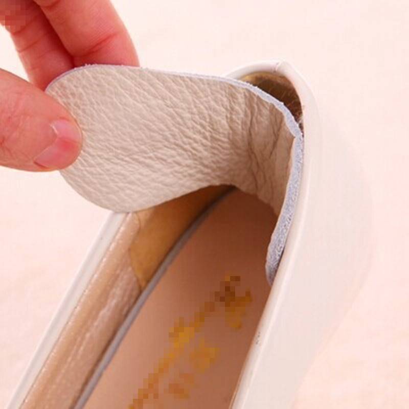 1 Pair New Shoes Pads Cow Leather Insole Liner Women High Heel Inserts Protector Foot Feet Care Shoe Insert Pad Insole Cushion