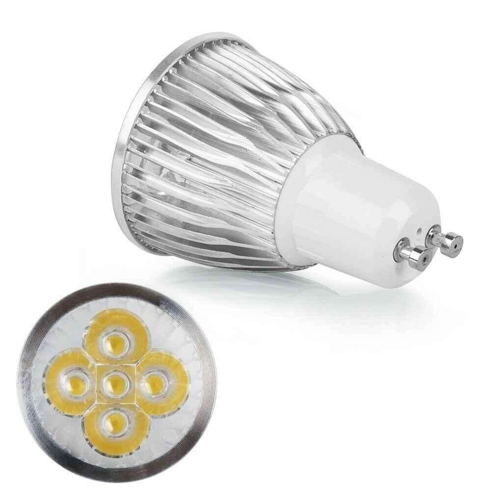 Illuminazione GU 10 HA CONDOTTO Il Riflettore Dimmable GU10 HA CONDOTTO LA Lampada 3W 4W 5W 110V 220V Rosso verde blu Lampada LED Lampadine della luce del Punto di Candela