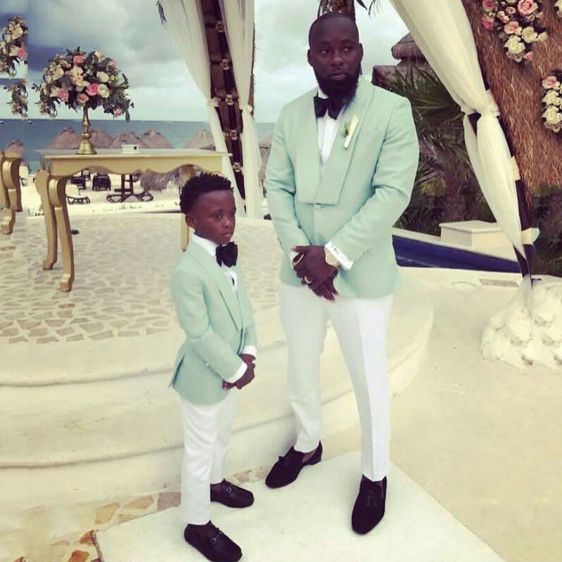 Summer Casual Suit Men 2019 Groom Tuxedo Men's Classic Suits Flower Boy Suits Costume Homme Man Attire Terno Masculino 2Piece