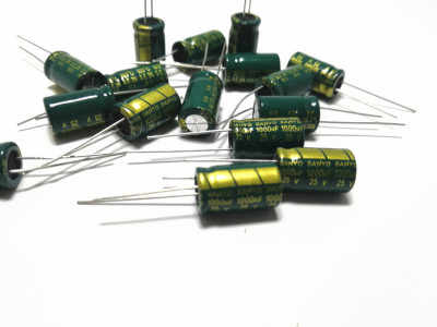 6.3-50V Sanyo High Frequency LOW ESR Radial Electrolytic Capacitor 470-3300uF IL