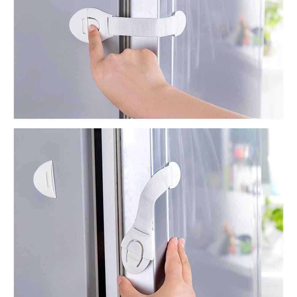 เด็กวัยหัดเดินเด็กทารกเด็กความปลอดภัยลิ้นชักตู้ตู้เย็นตู้ประตูล็อคเด็กล็อคป้องกันเด็ก
