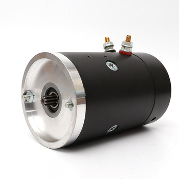 2.5kW Low-Voltage DC Brushed Copper Core Motor Car Tail Plate Stacked Power Unit