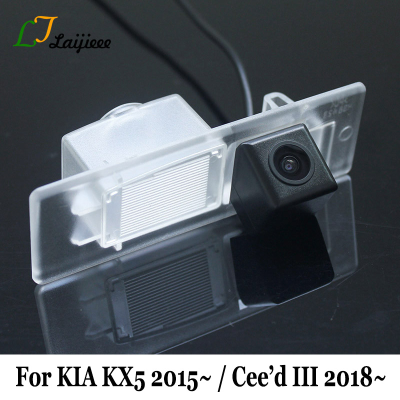 For KIA Ceed 3 III 2018 - Present Car Rearview Reverse Camera / HD Night Vision Rear Parking Camera For KIA KX5 2016 - Present image