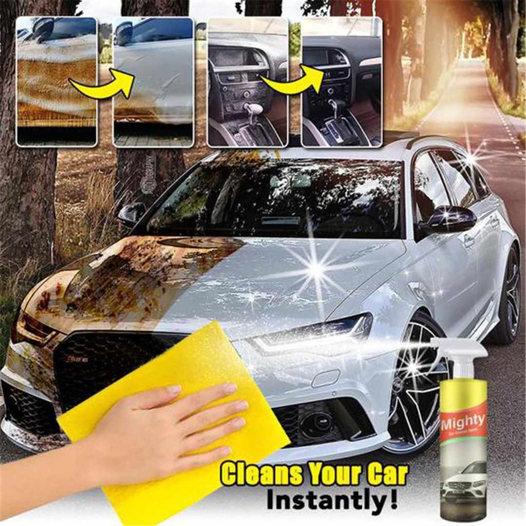 Czyszczenie samochodu produkty do pielęgnacji środek do mycia samochodów środek potężny środek do czyszczenia szkła środek przeciwmgielny Spray płyn do szyb samochodowych Windshie usuń kurz