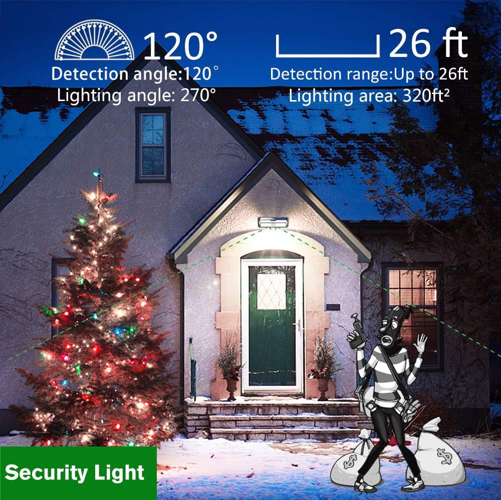 12 pacote litom 132 led solar luz 02