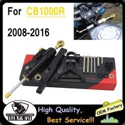 Accessories For HONDA CB1000R CB 1000R 2008-2016 CNC Steering Damper Stabilizer Shock Absorber Direction Mount Bracket CB 1000 R