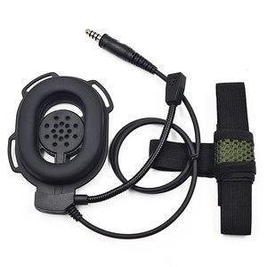 Image 5 - Casque tactique Bowman Elite II écouteur U94 PTT pour Kenwood TK2107 Baofeng UV 5R BF 888S UV 6R Portable Radio talkie walkie