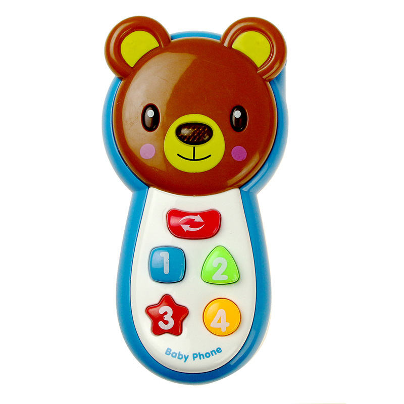 Music Mobile Phone Mom And Baby Toy Sound And Light Story Cognitive Baby Pacify Educational Children Gift
