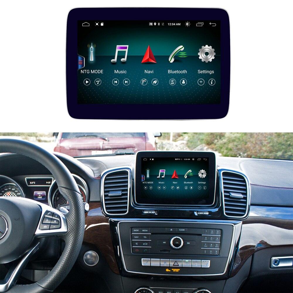 8.4 pouces 4 + 64G Android affichage pour Mercedes Benz ML GL W166 X166 voiture Radio écran GPS Navigation Bluetooth tête haute écran tactile
