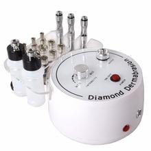 3 в 1 алмазная микродермабразия машина для очистки воды спрей для отшелушивания дермабразии для пилинга лица для спа инструмент для ухода за кожей