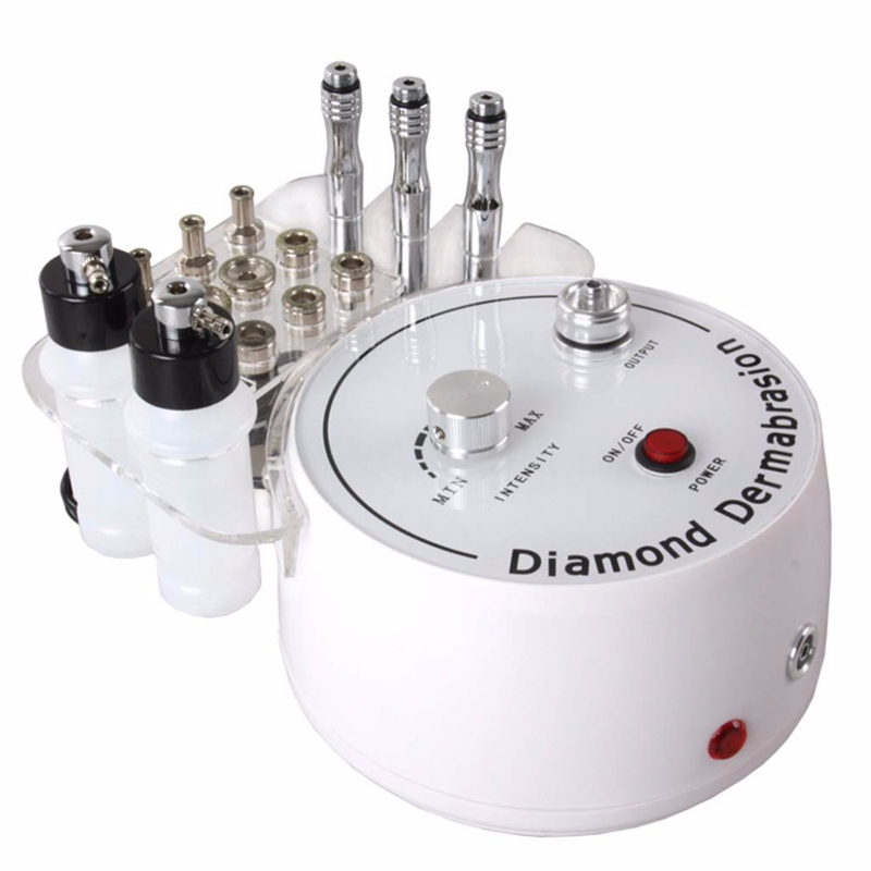 3 In1 Diamond Microdermabrasion Peel Machine Water Spray Exfoliation Dermabrasion Facial Peeling For SPA Skin Care Tool