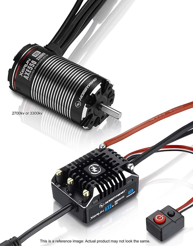 Xiangtat HOBBYWING Axe 550 FOC System Combo (Axe V1.1 ESC + Axe 550 FOC 2700kv/ 3300KV  Motor) For Rock Crawlers