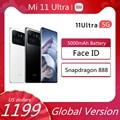 Xiaomi Mi 11 ультра смартфон глобальная версия Mi11 ультра 5G мобильный телефон Snapdragon 888 256 ГБ 512 ГБ уход за кожей лица, идентификатор сотового телефо...