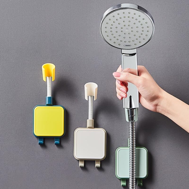 1 шт. вращающийся на 360 градусов кронштейн для душевой лейки в ванной комнате регулируемый держатель на присоске Подставка для душа вешалка ...