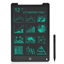 12 pouces LCD écriture tablette électronique dessin Doodle conseil numérique coloré manuscrit Pad cadeau pour enfants et adultes protéger les yeux