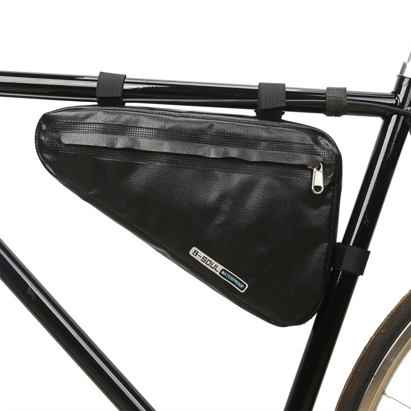 Bicycle Triangle Frame <font><b>Bag</b></font> Cycling Storage <font><b>Bag</b></font> Pack Saddle Pouch MTB Road Frame <font><b>Bag</b></font> Triangle Pouch Waterproof <font><b>Bike</b></font> Accessories image