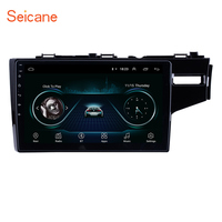 Seicane 2Din Android 8.1 10.1 Inch GPS Car Multimedia Player For HONDA JAZZ/FIT 2014 2015 (RHD) Support Steering Wheel Control