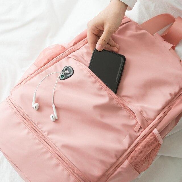 Multifunction fitness bag Large Capacity dry and wet separation sports bag shoulder Messenger bag couple handbag