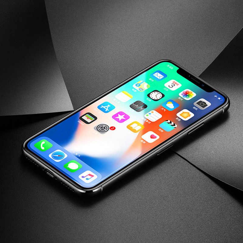 Gehard Glas Voor iphone 11 Pro Max 11 Pro 2019 Volledige cover Screen Protector Voor iphone XS XR XS MAX 8 7 6 Plus Beschermende Glas