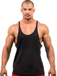 Sleeveless Shirt Clothing Tank-Top Singlet Fitness Men Stringer Workout Man New 7-Colors