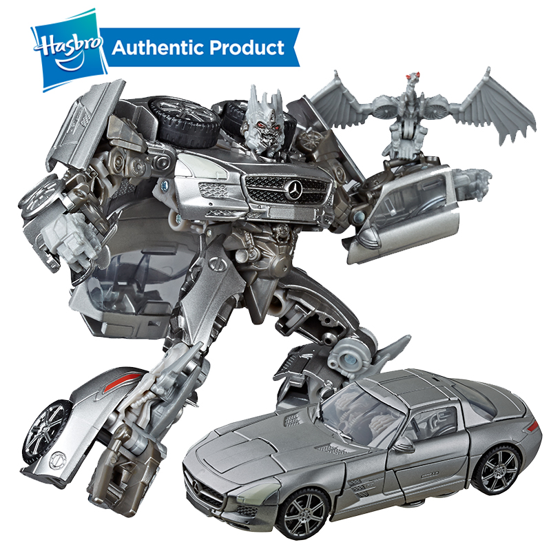 Hasbro Transformers Toys Studio Series 51 Deluxe Class Transformers Dark Of The Moon Movie Soundwave Action Figure Kids 4.5-inch