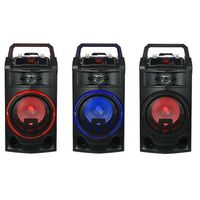 Orador portátil recarregável karaoke microfono incluído cores 25 w waranty MP-AL5