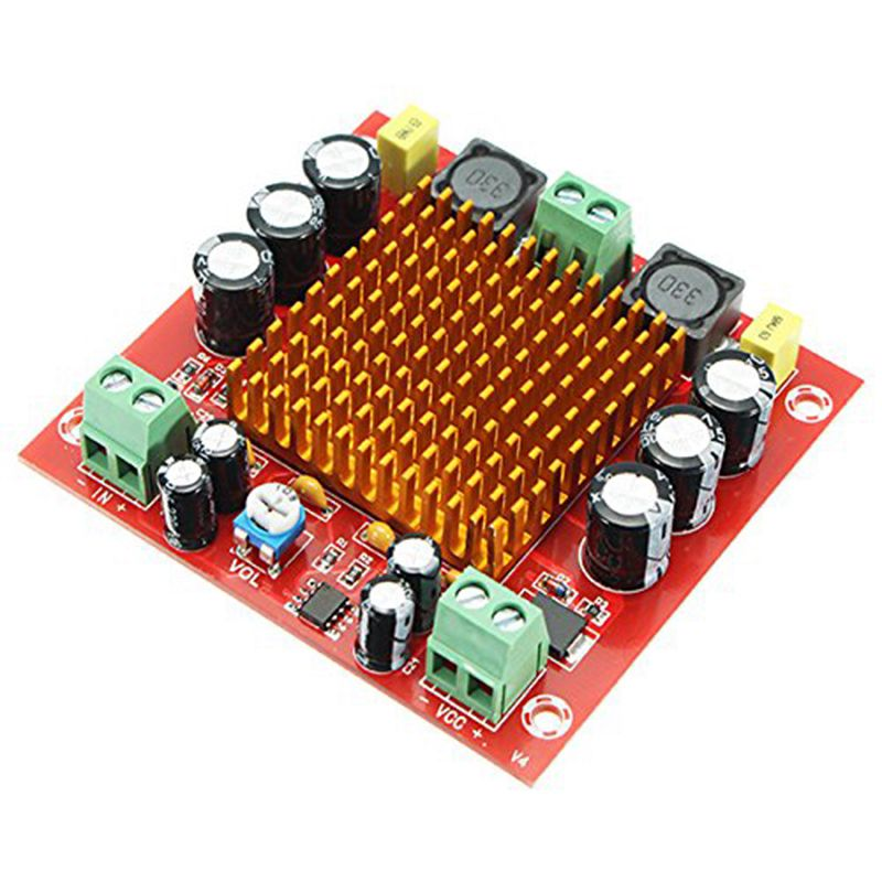 XH-M544 DC 12V 24V 150W TPA3116DA TPA3116 D2 Mono Canal Digital Audio Power Amplifier Amp Board