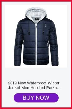 He909fbe8b77343448c03a3d540de9b6bb NEGIZBER 2019 Winter Mens Coats and Jackets Casual Patchwork Hooded Zipper Coats Men Fashion Thick Wool Jacket Men Streetwear