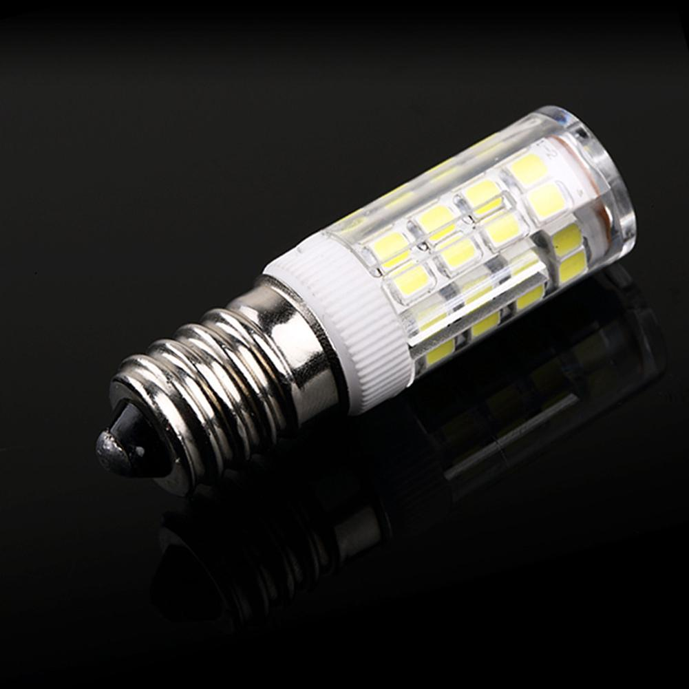Led Refrigerator Light Bulb E14 5W 220V Range Hood Light Bulb Cabinet Light Crystal Chandelier Light Bulb SMD Warm Light White