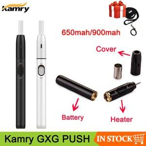 Image 1 - מקורי Kamry GXG PUSH ערכת חימום מקל 650mAh 900mAh חום לא לשרוף מאדה עבור חימום טבק מחסניות VS GXG I2 ערכת