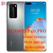 Global Versie Huawei P40 Pro 5G Mobilephone 6.58 ''Kirin 990 8Gb 256Gb Android 10 Bluetooth 5.1 in-Scherm Wifi 6 Sa/Nsa