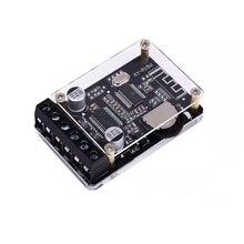 20W * 2 דיגיטלי אודיו Bluetooth 5.0 סטריאו מגבר עם מקרה DC12 24V כפולה ערוץ קטן סטריאו Amp