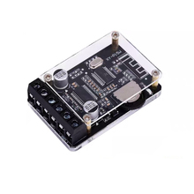 20W*2 Digital Audio Bluetooth 5.0 Stereo Amplifier with Case DC12 24V Dual Channel Small Stereo Amp