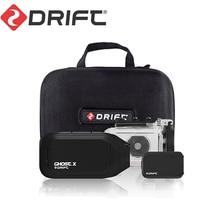 Drift Ghost X MC Action Camera  Ambarella 1080P Motorcycle Bike Sports Helmet Mini Cam ARM 12MP CMOS Rotary Lens WiFi